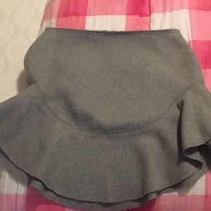 NWT Finders wool skirt